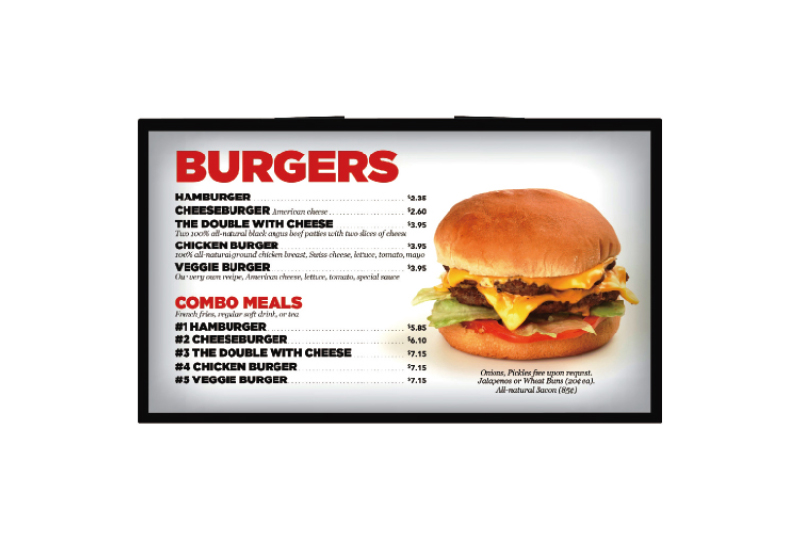 Wall-mounting Advertising Display